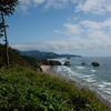 Looking south towards Cannon Beach from Ecola State Park.