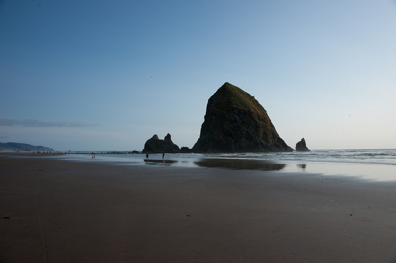 """The famous """"Haystack"""" rock at Cannon Beach."""