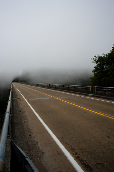 This is an unexpectedly good shot of the Thomas Creek Bridge, the highest bridge in Oregon, at 300 feet.