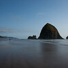 "The famous ""Haystack"" rock at Cannon Beach."