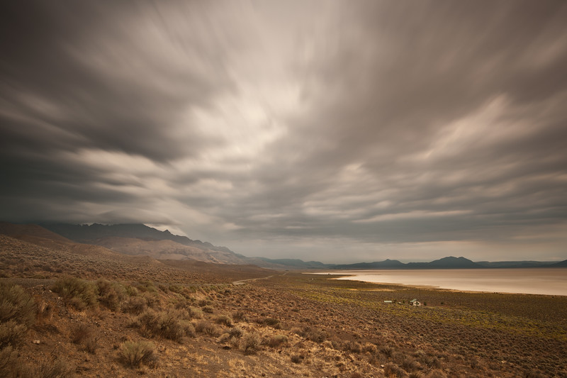 Steens Mountain makes for interesting weather.