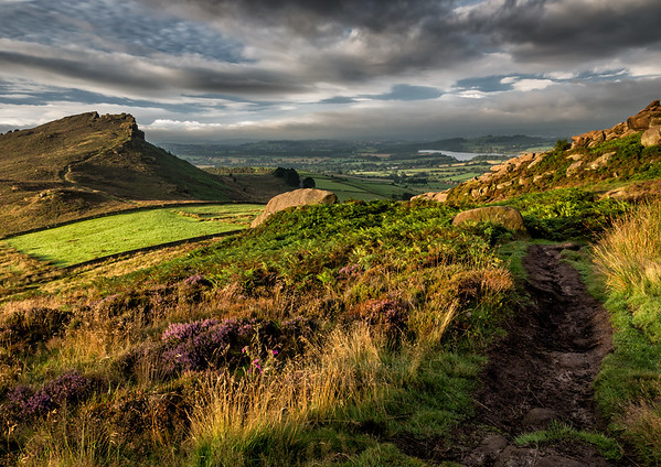The Roaches, Hen Cloud and Tittesworth Reservoir