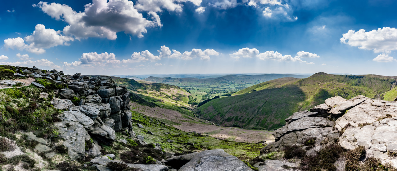 South Kinder Panorama with the Great Ridge in the Distance