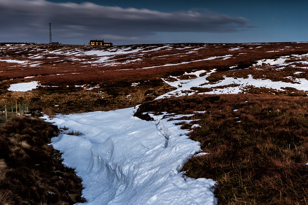 The Cat and Fiddle in Winter