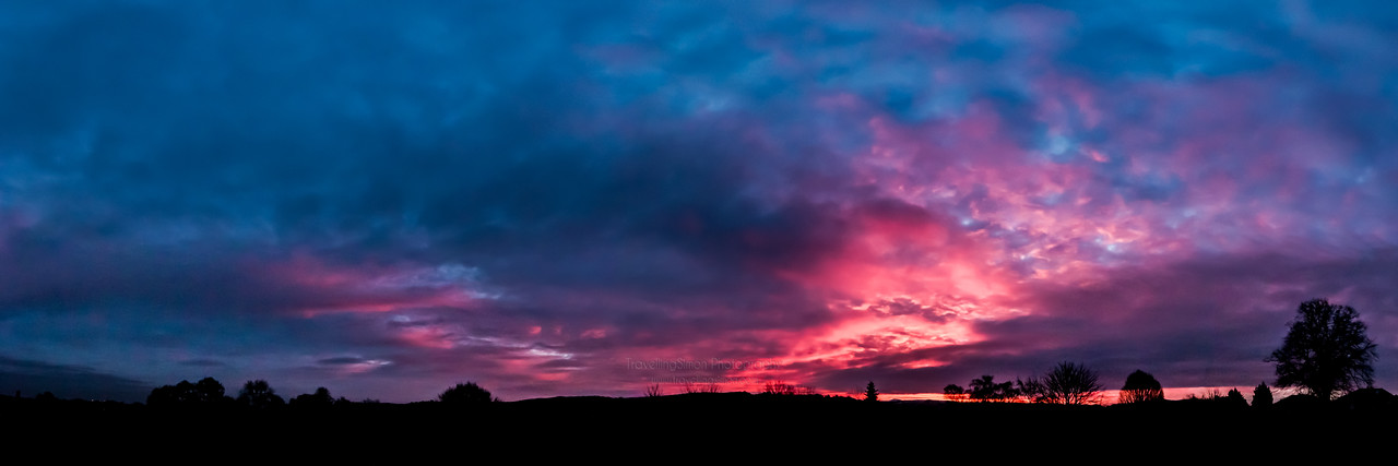Sunrise from South Park, Macclesfield