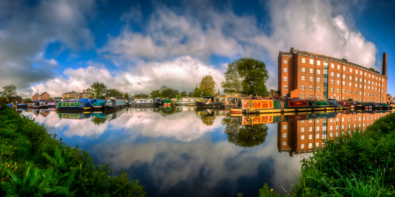 Putting all things into Perspective - Hovis Mill, Macclesfield Canal Wharf