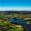 The Roaches, Hen Cloud and Tittesworth reservoir from the air