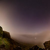 Castle Naze Moon bow panorama