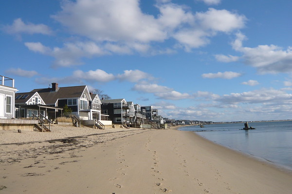 Beach and Homes