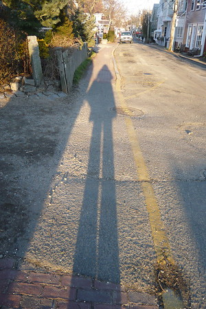 Casting a Tall Shadow in Provincetown