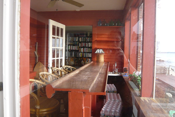 Norman Mailer home - bar