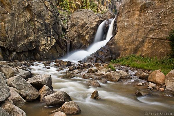 Thunder Falls<br /> Boulder, Colorado