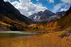 Maroon Lake with Maroon Bells beyond