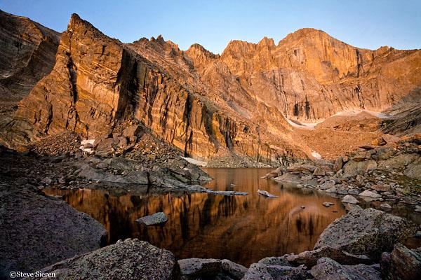 Under the Diamond ll <br /> Chasm Lake Rocky Mountain National Park, Colorado