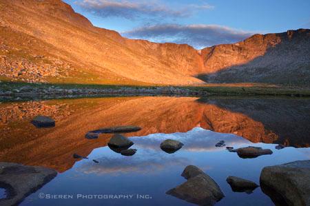 Summit Lake - Mt. Evans, Colorado #1 - Steve Sieren