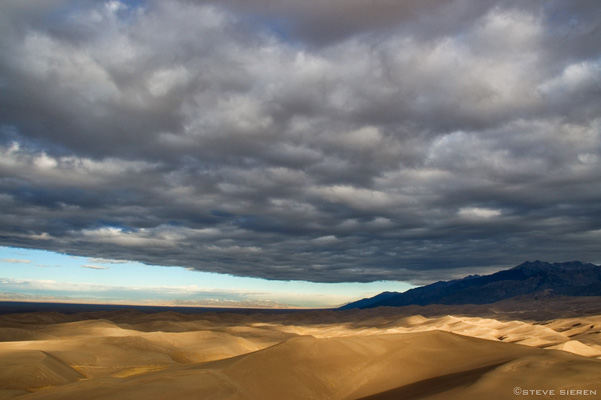 Heavy Sky - Great Sand Dunes, Colorado