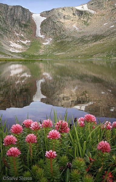 Soft Light<br /> Summit Lake - Mount Evans, Colorado