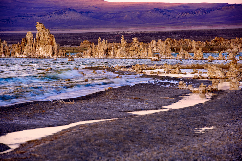 Mono Lake, tufa formations, osprey