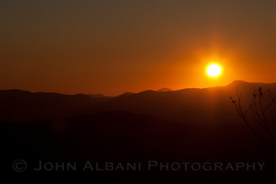 Sunrise at Clingman's Dome