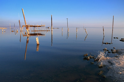 Ankle Deep in the Past  Salton Sea, California  If the Salton Sea dried up it would the lowest point in California replacing Badwater in Death Valley.