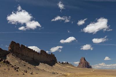 Shiprock Clouds 6366