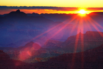 Grand Canyon National Park Sunrise, Arizona