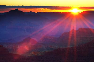 Grand Canyon National Park Sunrise, Arizona