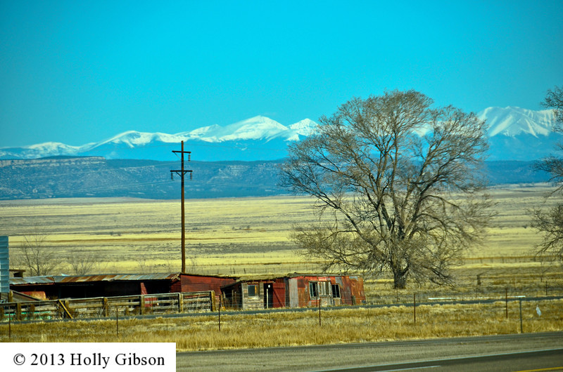 View from rest stop in northern New Mexico