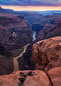 Grand Canyon Toroweap Sunset View