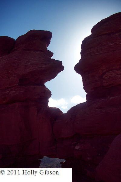 Siamese Twin rock