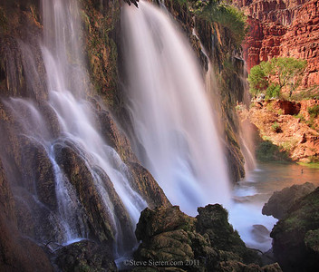 New Navajo Falls, Havasu Canyon - Grand Canyon West