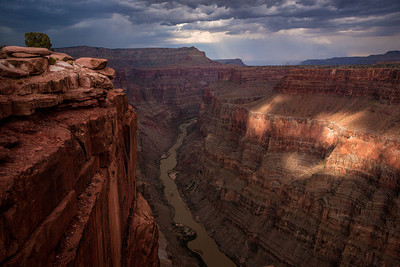 Toroweap Grand Canyon Storm Spot Light