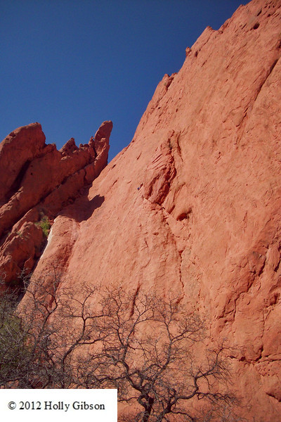 Garden of the Gods 4 - look for the climbers