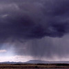 Distant rain along route 191, Arizona