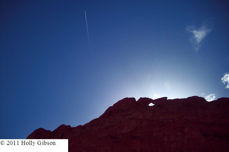 Kissing camels and contrail