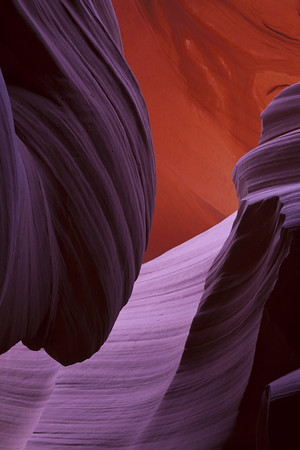 Antelope Canyon  Shape and Color