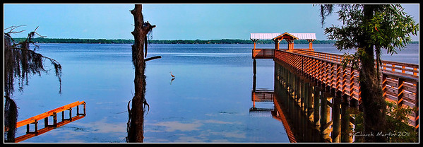 St. Johns River - Dock at Alpine Groves.