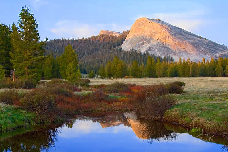 The Tioga Pass and Tuolumne Meadows