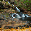 I can't resist a good whirlpool. Luckily the flow at Garwin Falls made a previously difficult vantage point possible.