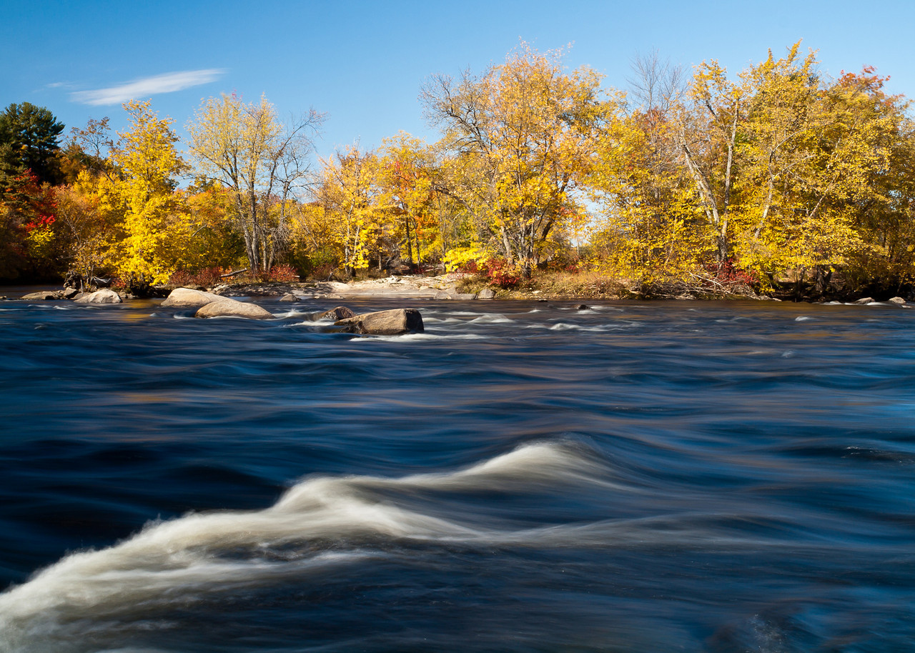 An island in the mighty Merrimack River.  When I went down the first time I knew I had to come back with a tripod.  Why it's the best of 2010 - because it's a powerful subject that river and because I worked for some time on the bank trying to frame this right - particularly that stripe of rough water that leads your eye to the trees.  I must have looked funny shuffling around and peering down into my LCD screen over and over again. Longish shutter speed, but not too much that the trees are totally blurry and light that is direct, but not too flat or harsh.   Finally though, it came together.