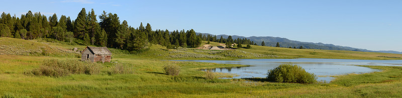 The meadows surrounding Davis Reservoir near Cascade, Idaho.