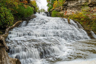 Autumn At Beamer Falls