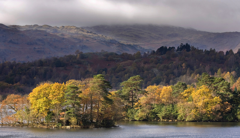 RYDAL WATER before the storm