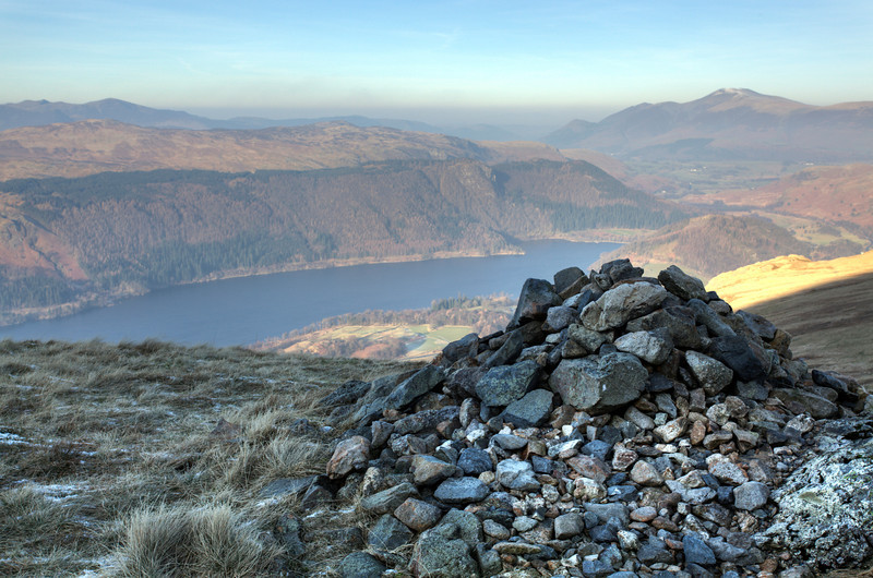A CAIRN ABOVE THIRLMERE 2012