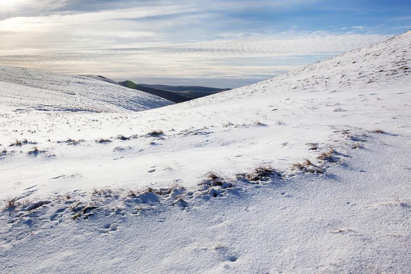 SNOWY SLOPES OF GRASMOOR & WANDOPE