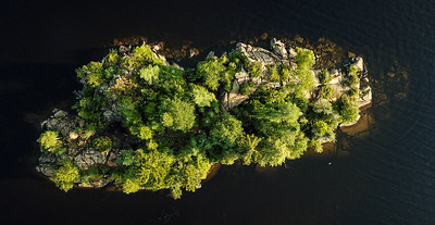 Island top view