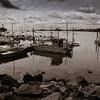 Thimble Islands Boatscape, by David Everett