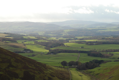 The Nith Valley above Thornhill.