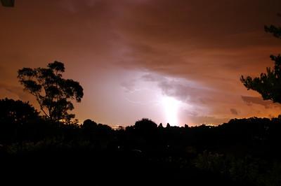 Thunder & Lightning over Wilmington CA