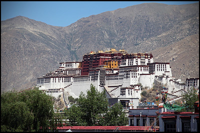 Potala Palace viewed from afar